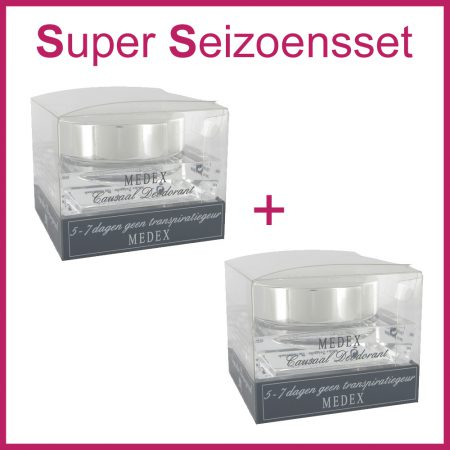 2x MEDEX Causaal Deodorant (Super Seizoensset)-0