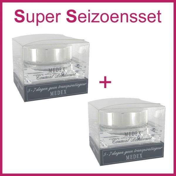2x MEDEX Causaal Deodorant (Super Seizoensset)-0